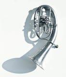 风-铜管乐器,螺旋 免版税库存照片