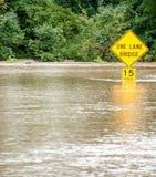 风暴洪水 免版税库存图片