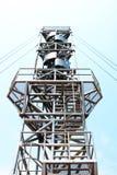 风TUNBINE塔在泰国 库存照片