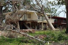 飓风卡特里娜 免版税库存图片