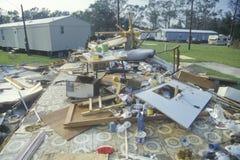 飓风安德鲁 免版税库存照片