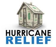 飓风安心 免版税库存图片