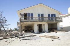 飓风桑迪- 1年后海湾树荫处 图库摄影