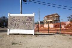 飓风桑迪- 1年后联合海滩 免版税图库摄影