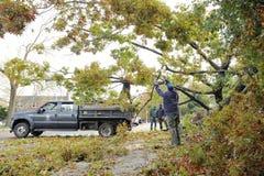 飓风桑迪 免版税库存照片