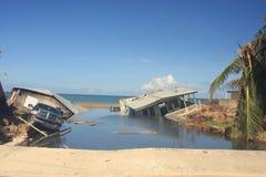 飓风玛丽亚玛雅圭兹波多黎各 免版税库存图片