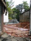 飓风艾琳 免版税库存照片