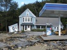 飓风艾琳 免版税库存图片