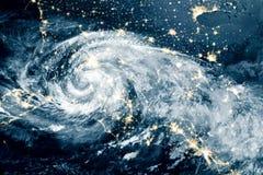 飓风迈克尔 免版税图库摄影