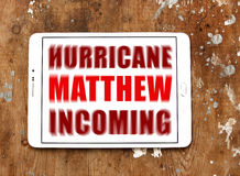 飓风马修 免版税库存照片