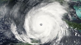 飓风 向量例证