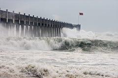 飓风ike 库存图片