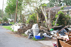 飓风katrina3 免版税库存图片