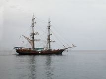 飞剪机聘用船 免版税库存照片