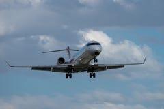 飞机乘客 免版税库存图片
