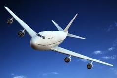 飞机乘客 库存照片