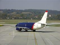 飞机乘客 免版税库存照片