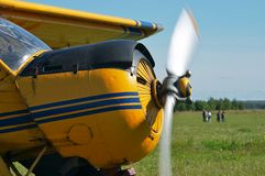 飞机体育运动 免版税库存照片