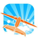 飞机例证 免版税库存照片