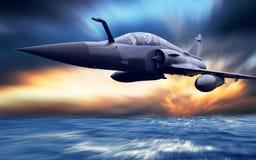 飞机军人 库存照片