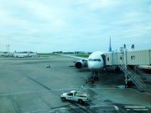飞机准备 图库摄影