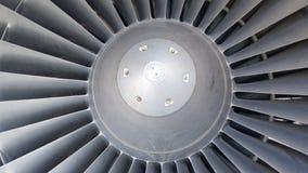 飞机反应器关闭 皇族释放例证