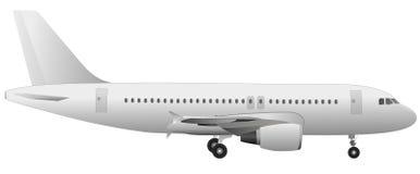 飞机向量 免版税图库摄影