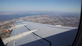 飞机向马德拉岛 股票视频