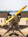 飞机吹笛者L-4 库存图片