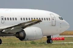 飞机喷气机乘出租车 免版税图库摄影