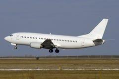 飞机喷气机白色 免版税图库摄影