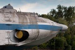 飞机在公园 莫斯科 免版税库存照片