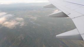 飞机在天空驾驶 股票视频