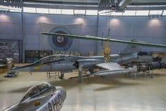 飞机型号,洛克希德f-104 starfighter 免版税图库摄影
