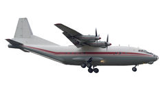 飞机处理的支柱rwy涡轮 免版税库存照片