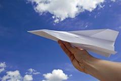飞机女性现有量藏品纸张 库存图片