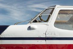 飞机客舱 免版税图库摄影