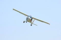 飞机小的白色 图库摄影