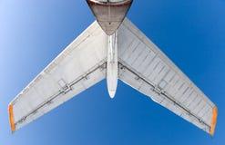 飞机尾标 免版税库存照片