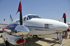 飞机布加勒斯特 免版税库存图片