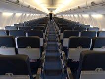 飞机座位 免版税图库摄影