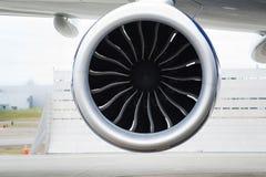 飞机引擎喷气机推进力 库存照片