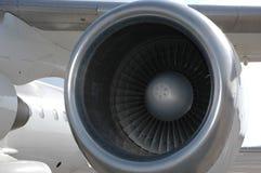 飞机引擎 图库摄影