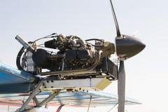 飞机引擎 免版税库存照片