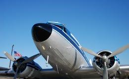 飞机推进器葡萄酒 免版税库存图片