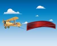飞机标志 图库摄影