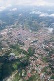 从飞机的圣拉蒙 库存照片