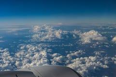 从飞机的看法 免版税库存照片