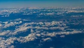 从飞机的看法 图库摄影