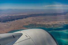 从飞机的看法 免版税库存图片